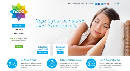 Napz: eCommerce Website